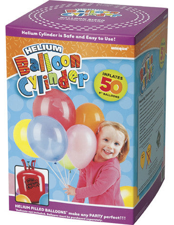 Helium Canister - inflates 50