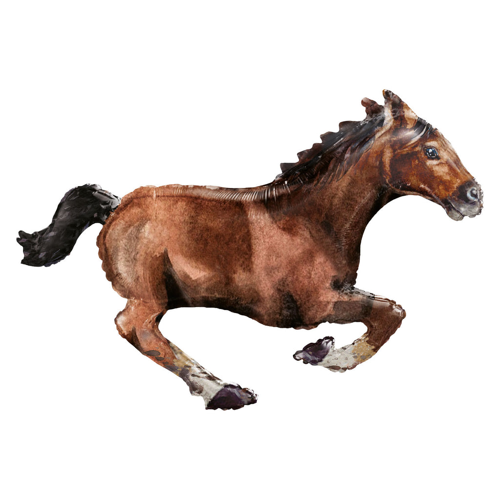 Foil Balloon - Supershape - Horse