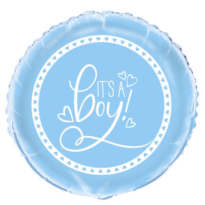 "Foil Balloon - 18"" - It's A Boy!"