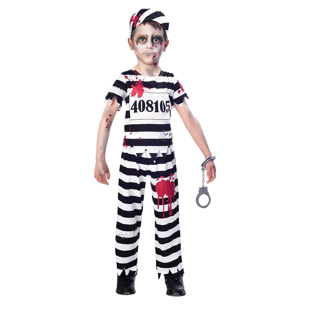 Zombie Convict Costume - Childs