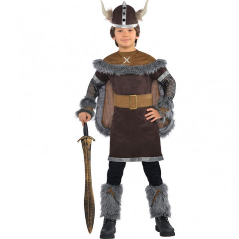 Viking Warrior Costume - Childs
