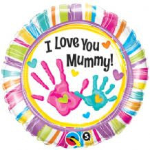 "Foil Balloon - 18"" - Love You Mummy"