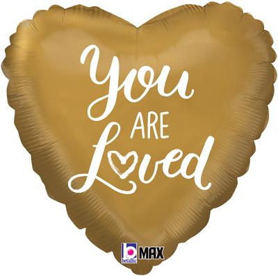"Foil Balloon - 18"" - You are Loved"
