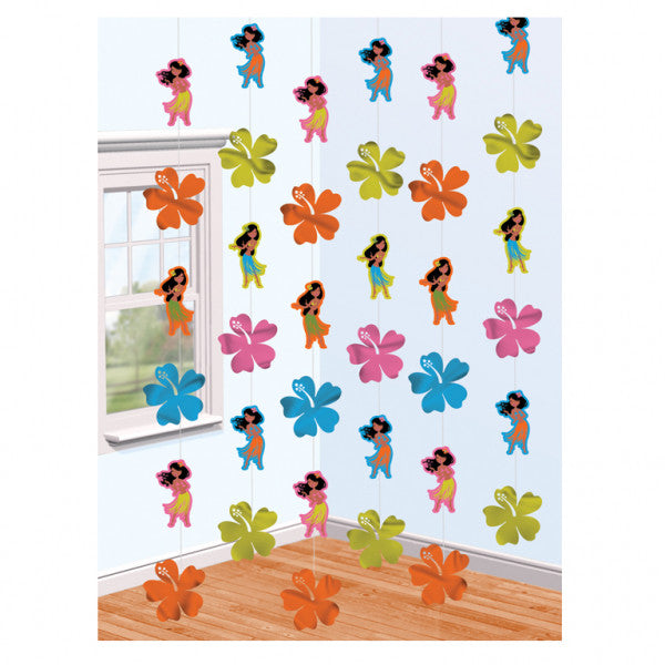 Hanging Decorations - Hawaiian Hula Girl