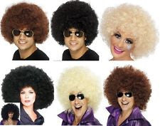 Afro Wig - Mega Huge - Black/Brown/Blonde