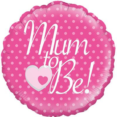 "Foil Balloon - 18"" - Mum to Be"