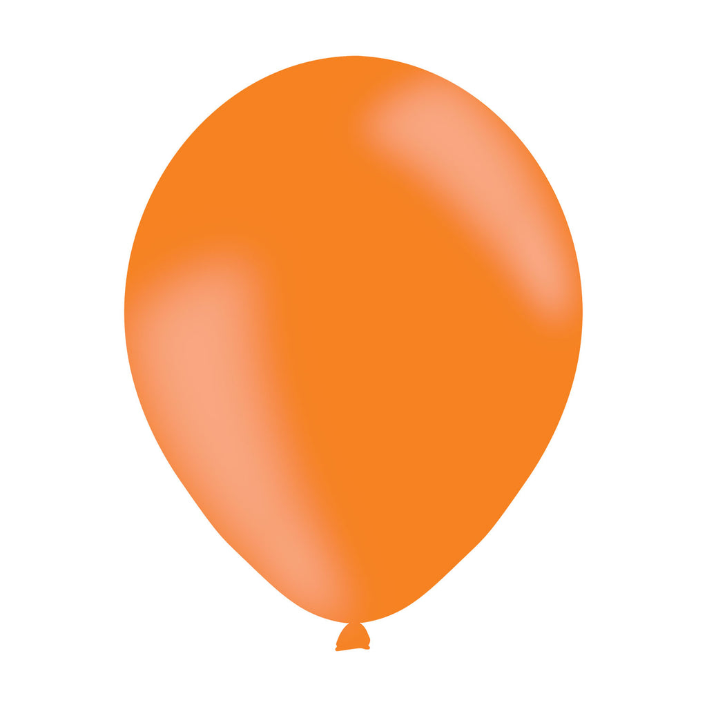 Latex Balloons - Orange