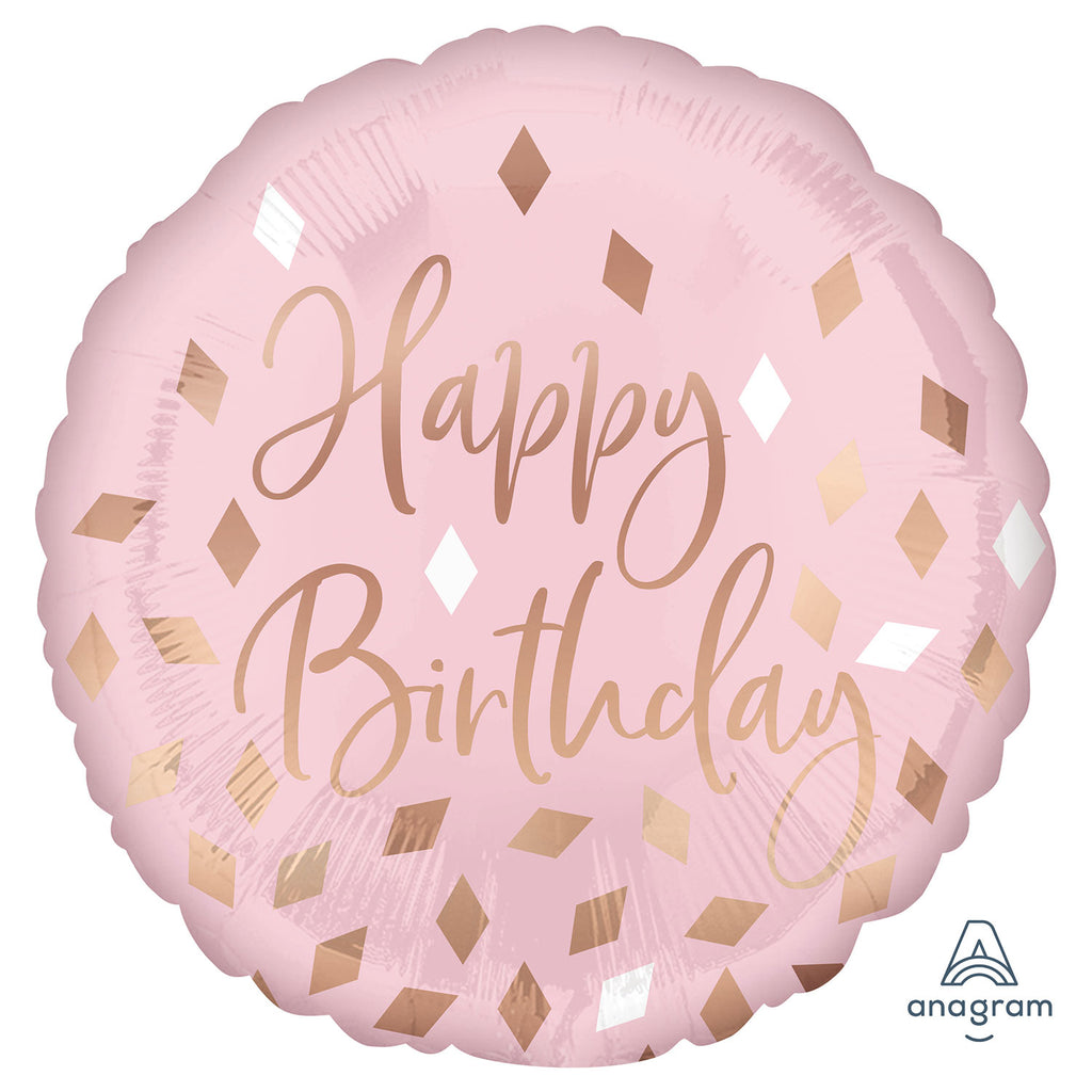 "Foil Balloon - 17"" - Birthday"