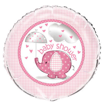 "Foil Balloon - 18"" - Baby Shower - Pink"