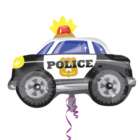 Foil Balloon - Junior Shape - Police Car
