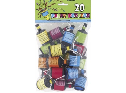 Party Poppers - 20