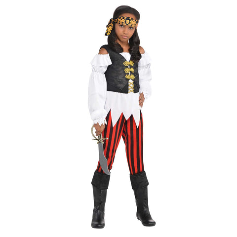 Pirate Girl Costume - Pretty Scoundrel - Childs