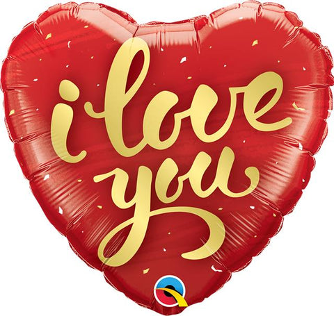 "Foil Balloon - 18"" - I Love You"