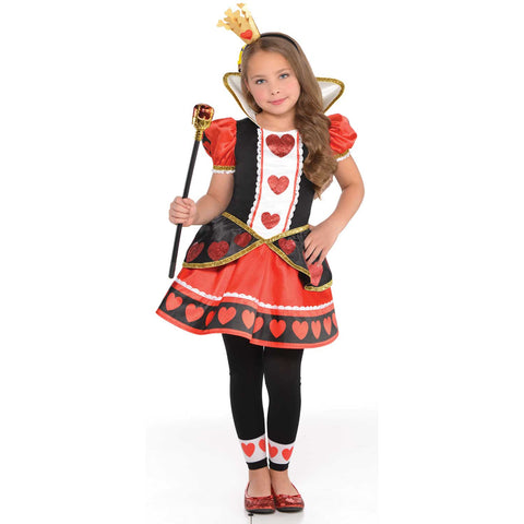 Queen of Hearts Costume - Childs