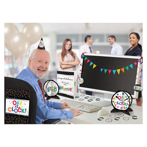 Office Decoration Kit - Retirement
