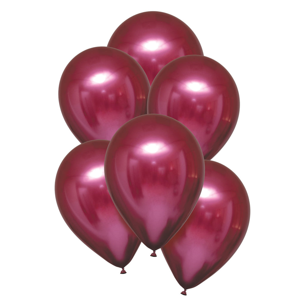 Latex Balloons - Satin Luxe - Pomegranate