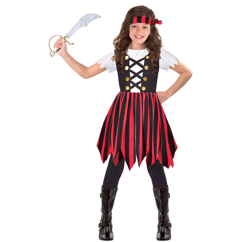 Pirate Girl Costume - Ship Mate Cutie - Childs