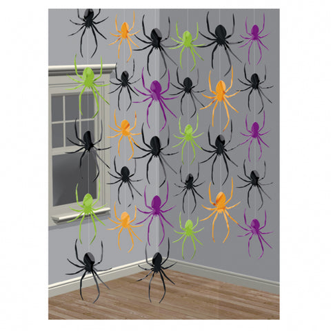 Hanging Decorations - Spiders