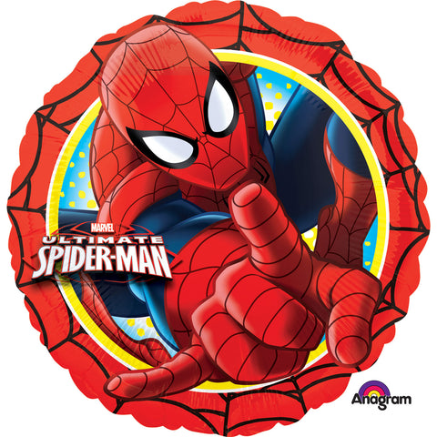 "Foil Balloon - 17"" - Spiderman"
