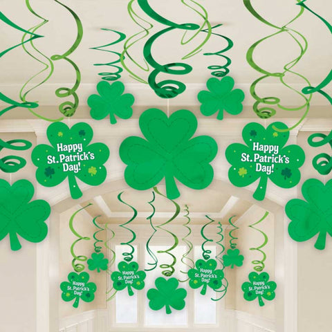 Swirl Decorations - St. Patrick's Day