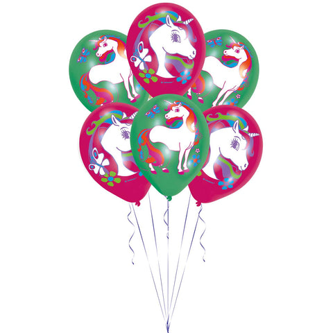 Latex Balloons - Unicorn