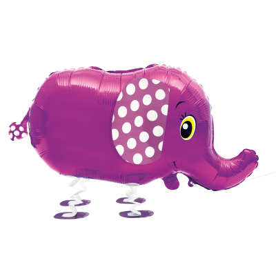 Foil Balloon - Walking Pet - Elephant