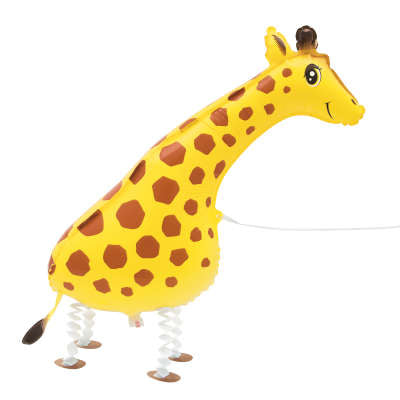 Foil Balloon - Walking Pet - Giraffe