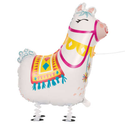 Foil Balloon - Walking Pet - Llama