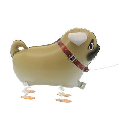 Foil Balloon - Walking Pet - Pug