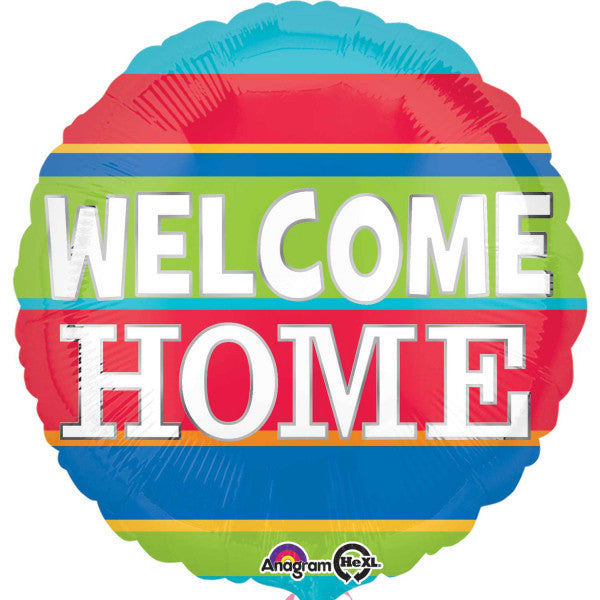 "Foil Balloon - 17"" - Welcome Home"