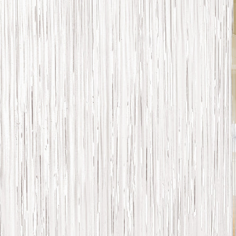 Door Curtain - White Shimmer
