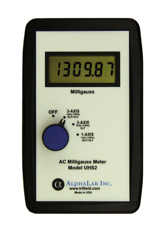 AC Milligauss Meter Model UHS2