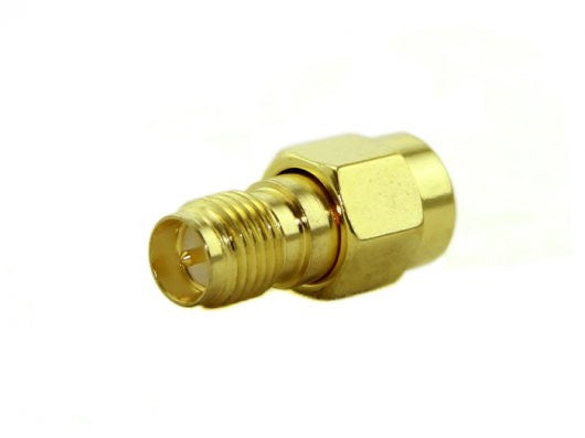 RF Adapter RP-SMA Jack to SMA Plug straight-long version