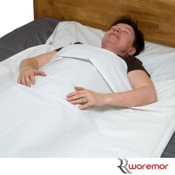 Earthing and EMF Protection Sleeping Cover for Low Frequency Radiation