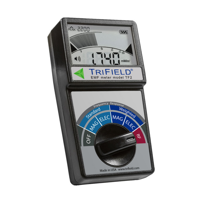 TriField EMF Meter Model TF2 - Angled
