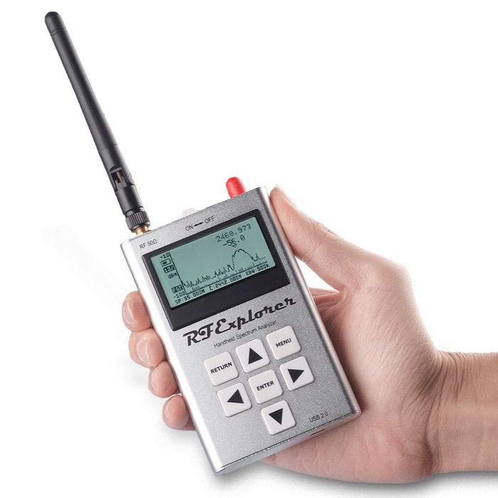 RF Explorer Handheld Spectrum Analyzer - 3G Combo