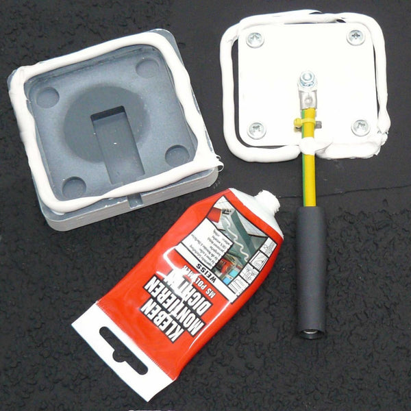 WOREMOR GE Grounding Plate Exterior - glue