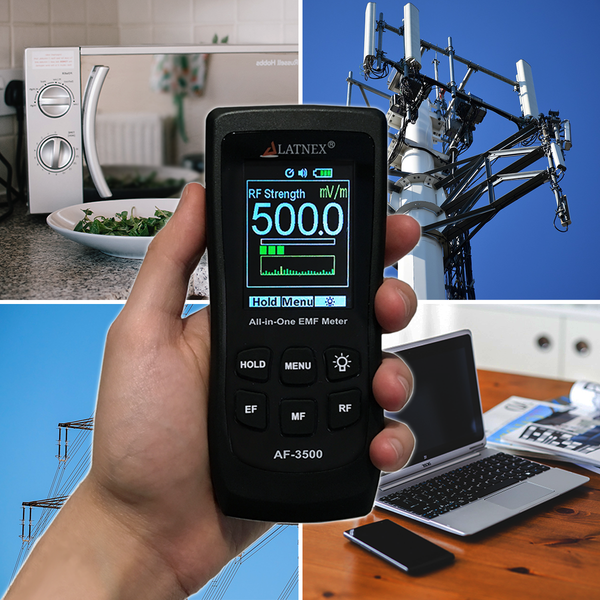 LATNEX® All-in-One EMF Meter AF-3500