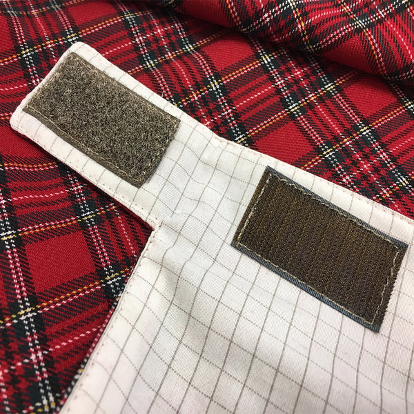 WOREMOR Tartan Pattern Earthing Blanket With Grounding Kit - grounding connection point