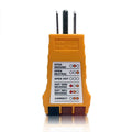 Outlet Circuit Tester for 125VAC Circuits - Detects Faulty Wiring in 3 Wire Receptacle