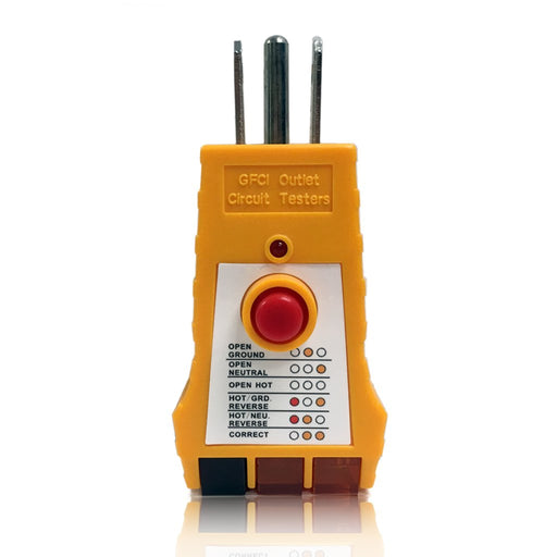 GFCI Outlet Circuit Tester for 125VAC Receptacles