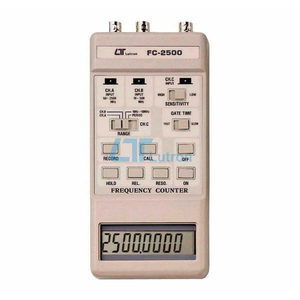 Lutron FC-2500A: 2.5GHz Frequency Counter, handheld type