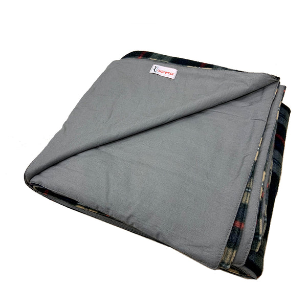 WOREMOR RF EMF Protection Fleece Blanket