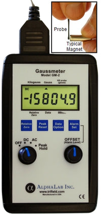 DC Gaussmeter GM2 - Front