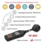 LATNEX® HF-B8G Professional High Frequency and RF Meter