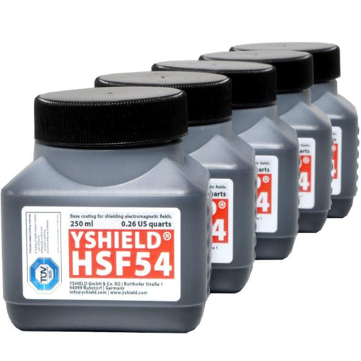 Sample Set HF Shielding Paints | 5x 250 ml