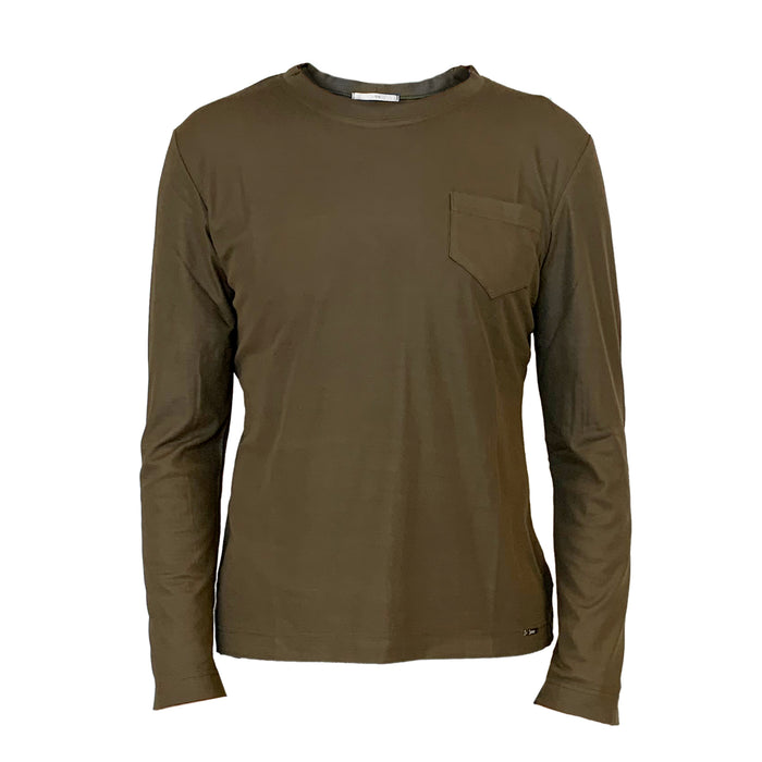 EMF Protection Long-Sleeve T-Shirt WM-L18 - Olive