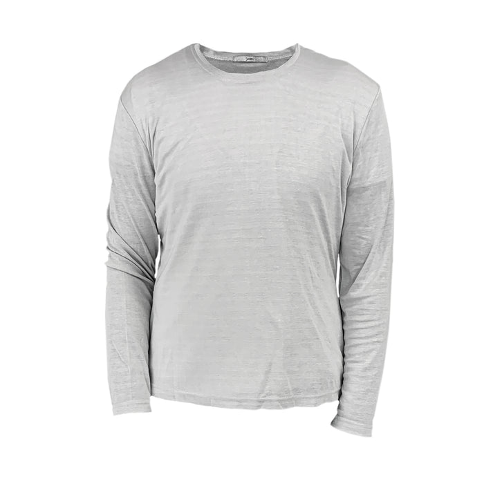 EMF Protection Long-Sleeve T-Shirt WM-L18 Silver - Grey