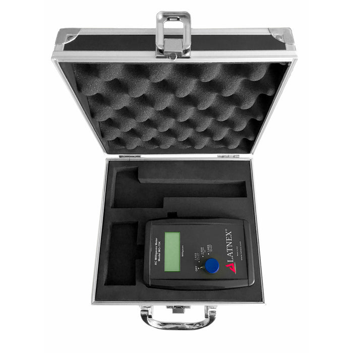 LATNEX® AC Milligauss Meter Model MG-75K with Aluminum Case