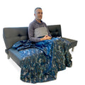 WOREMOR EMF Protection Blanket - Navy/Camouflage (XL)